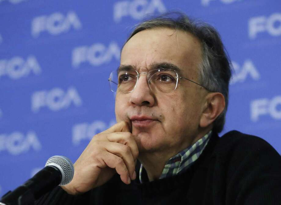 "Fiat Chrysler CEO Sergio Marchionne says discussions are ""proceeding well"" with U.S. environmental authorities over accusations that the company failed to disclose software that let vehicles emit more pollution than allowed. Photo: Carlos Osorio /Associated Press / Copyright 2017 The Associated Press. All rights reserved."