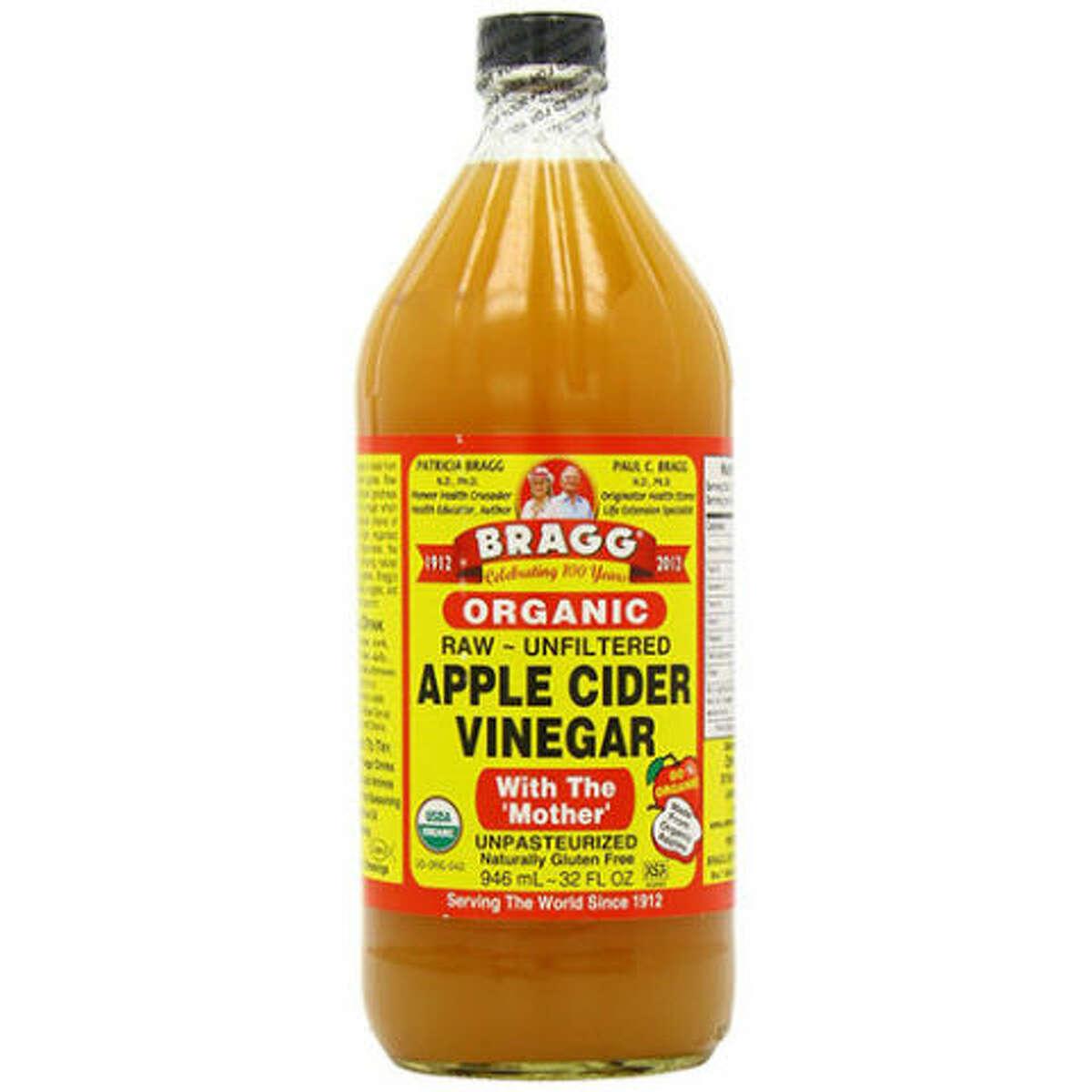 Bragg Usda Organic Raw Apple Cider Vinegar, 16 Fluid Ounce Amazon: $6.90 (not Prime)AmazonFresh: $5.09 Whole Foods: $3.99