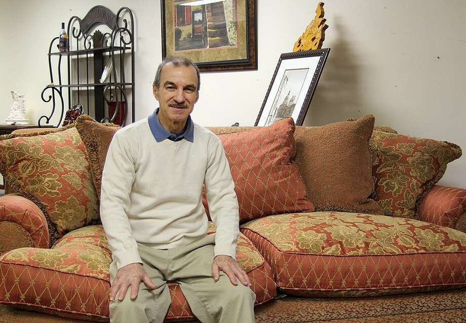 Lou Tomas, owner of European Furniture on Main Street in Danbury, Conn., will close his shop by the end of January 2017. Photo: Chris Bosak / Hearst Connecticut Media / The News-Times