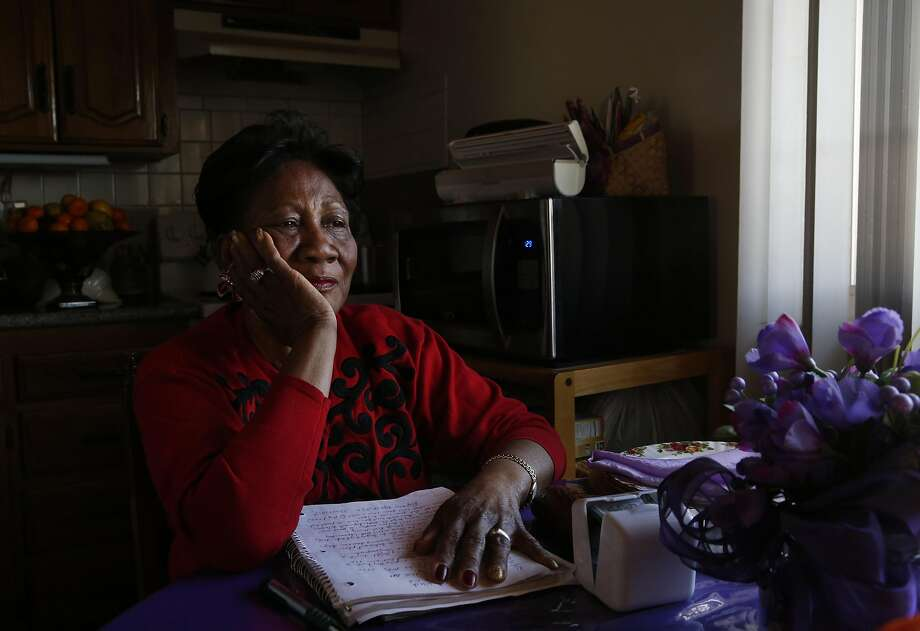 Ezzie Martin, 75, pictured in the kitchen of her apartment in the small apartment building she owns and manages Jan. 25, 2017 in Richmond Calif. Photo: Leah Millis, The Chronicle