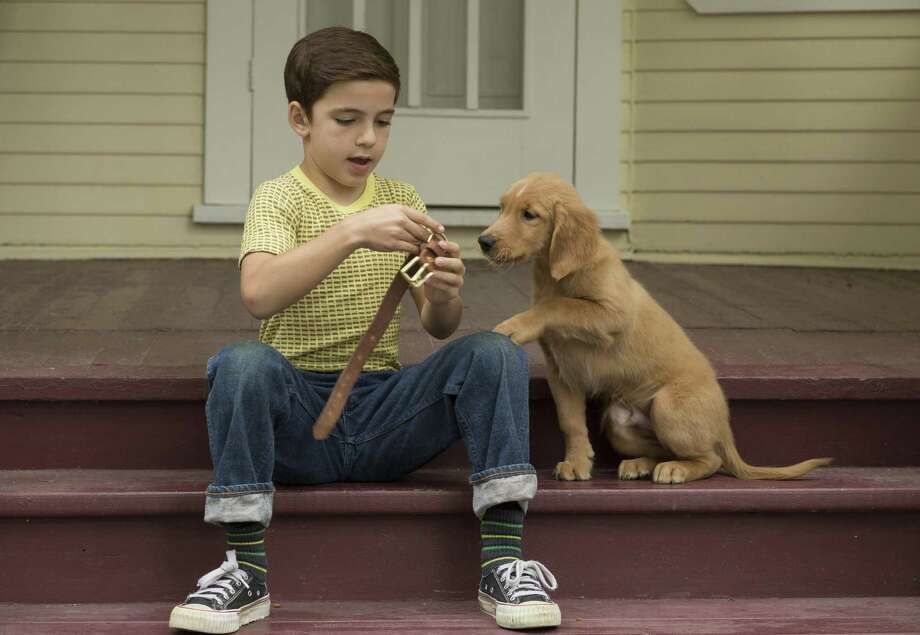 "Bryce Gheisar with the dog as a puppy in a scene from ""A Dog's Purpose."" Photo: Universal Studios / ©Universal Pictures / © DreamWorks II Distribution Co., LLC and Walden Media, LLC. All Rights Reserved."