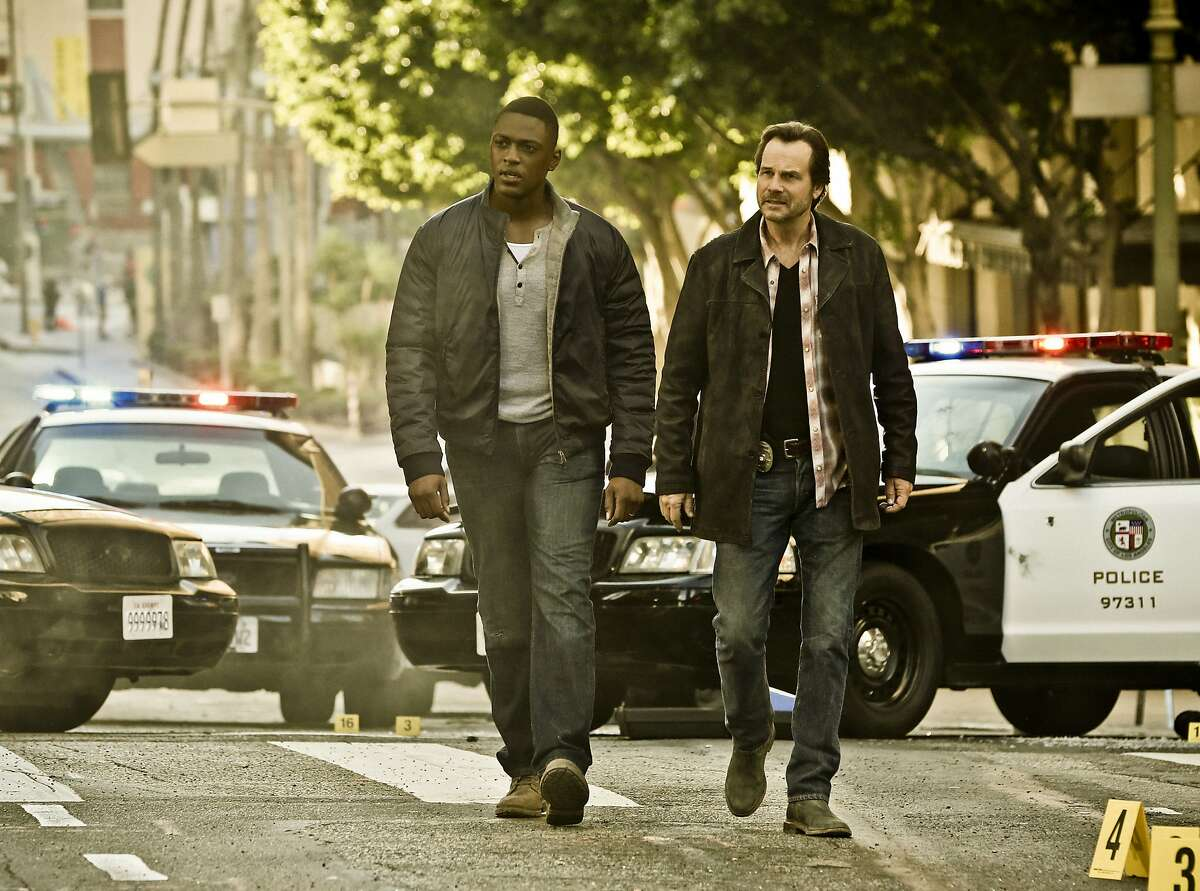 Justin Cornwell co-stars with Texas-born actor Bill Paxton in 'Training Day,' a CBS crime thriller which benefits from charming levity delivered by Paxton's rogue cop.