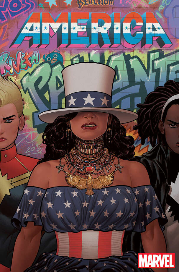 "Marvel's ""America,"" starring a queer Latina superhero, hits shelves March 2017."