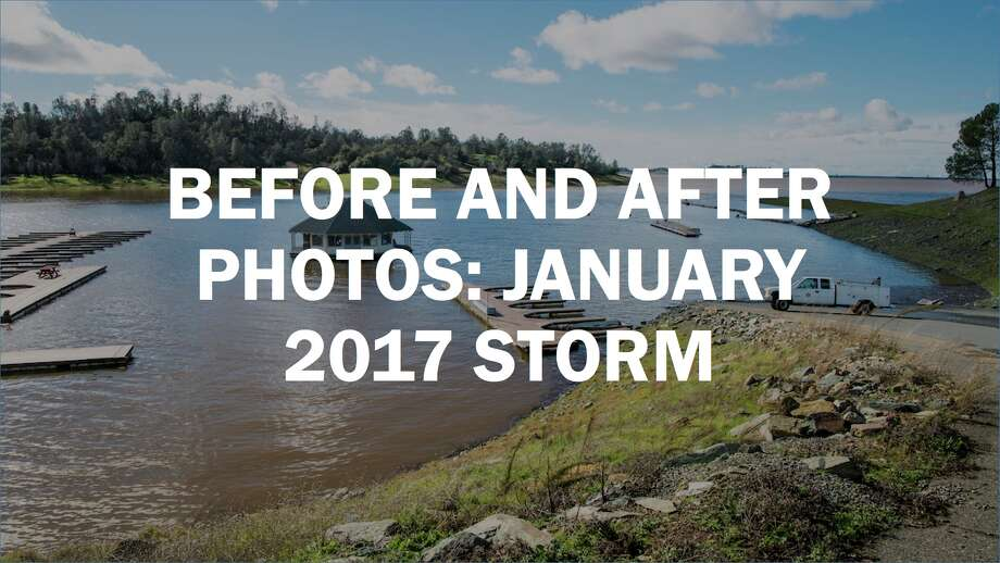 Before-and-after photos show California storm's insane impact on