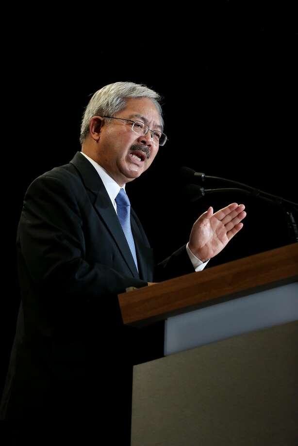 An FBI agent testifying on Tuesday, April 11, 2017, in a corruption case involving two City Hall workers and a former San Francisco school board president said Mayor Ed Lee was also a target of the investigation. No wrongdoing on the mayor's part was found. Photo: Amy Osborne, Special To The Chronicle
