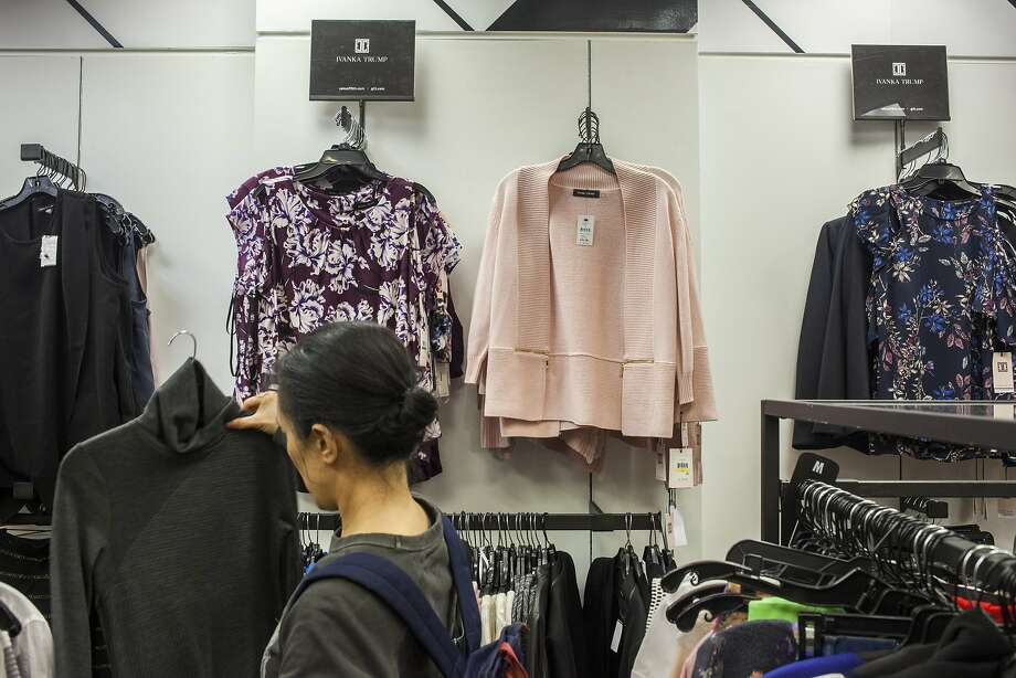 Ivanka Trump items for sale at Saks Off 5th, in Manhattan, Dec. 21, 2016. Photo: DANNY GHITIS, NYT