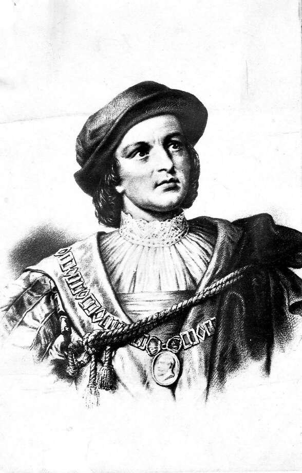 Christopher Columbus, illustration (unknown artist) (date unknown) Photo: FILE PHOTO