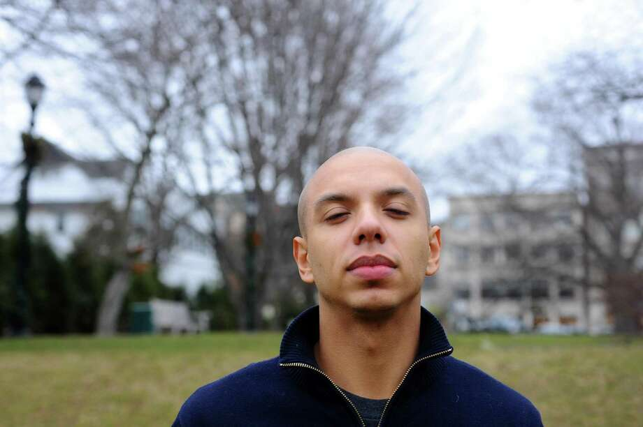 Former Greenwich resident Julio Rivera is the founder of Zen Compass, a meditation community he is building for milennials around New York City. Photographed at Havemeyer Fields in Greenwich, Conn. on Monday, Jan. 23, 2017. Photo: Michael Cummo / Hearst Connecticut Media / Stamford Advocate