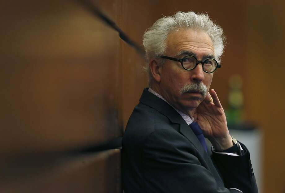 UC Berkeley Chancellor Nicholas Dirks listens as the UC Board of Regents discuss a plan to raise student tuition fees before voting for its approval during a meeting at the UCSF Mission Bay campus in San Francisco, Calif. on Thursday, Jan. 26, 2017. Photo: Paul Chinn, The Chronicle