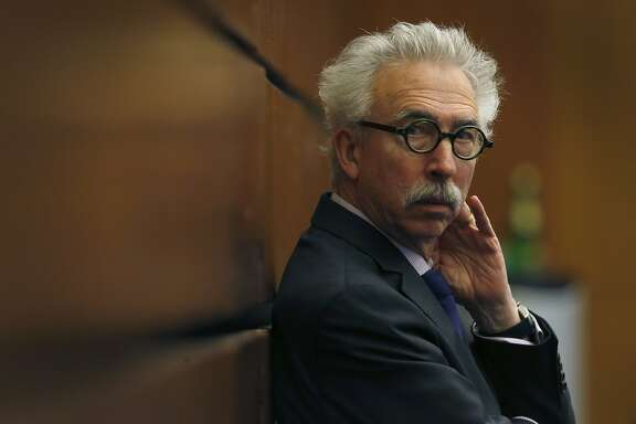 UC Berkeley Chancellor Nicholas Dirks listens as the UC Board of Regents discuss a plan to raise student tuition fees before voting for its approval during a meeting at the UCSF Mission Bay campus in San Francisco, Calif. on Thursday, Jan. 26, 2017.