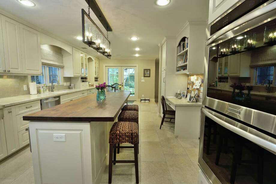 This kitchen was remodeled by Greymark Construction Co. Photo: Courtesy Of Greymark Construction Co.