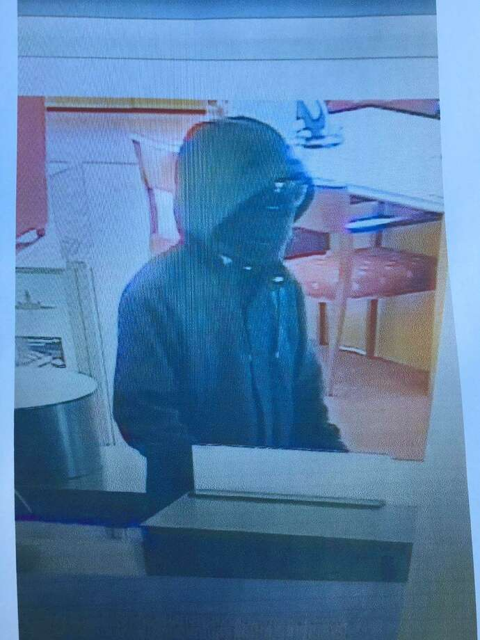 A photo of a Scotts Valley robbery suspect who remained at large Thursday.