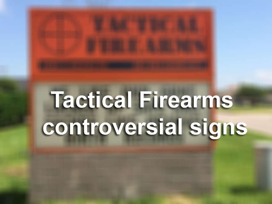 Click ahead to read Tactical Firearms most controversial signs. Photo: Mysa