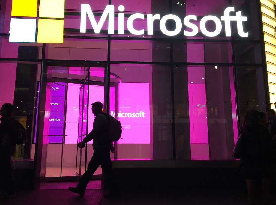 Beginning in July, Microsoft's Dynamics 365 software for salespeople will draw on LinkedIn's trove of workplace data, allowing users to bring in résumé information and other details to inform interactions with potential customers. Photo: Swayne B. Hall /Associated Press / AP