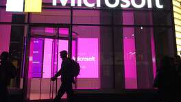 Beginning in July, Microsoft's Dynamics 365 software for salespeople will draw on LinkedIn's trove of workplace data, allowing users to bring in résumé information and other details to inform interactions with potential customers.