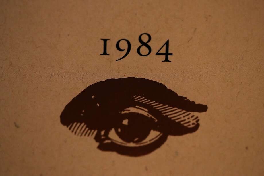 LOS ANGELES, CA - JANUARY 25:  A copy of George Orwell's novel '1984' sits on a shelf at The Last Bookstore on January 25, 2017 in Los Angeles, California. George Orwell's 68 year-old dystopian novel '1984' has surged to the top of Amazon.com's best seller list and its publisher Penguin has put in an order for 75,000 reprints.  (Photo by Justin Sullivan/Getty Images) Photo: Justin Sullivan, Getty Images