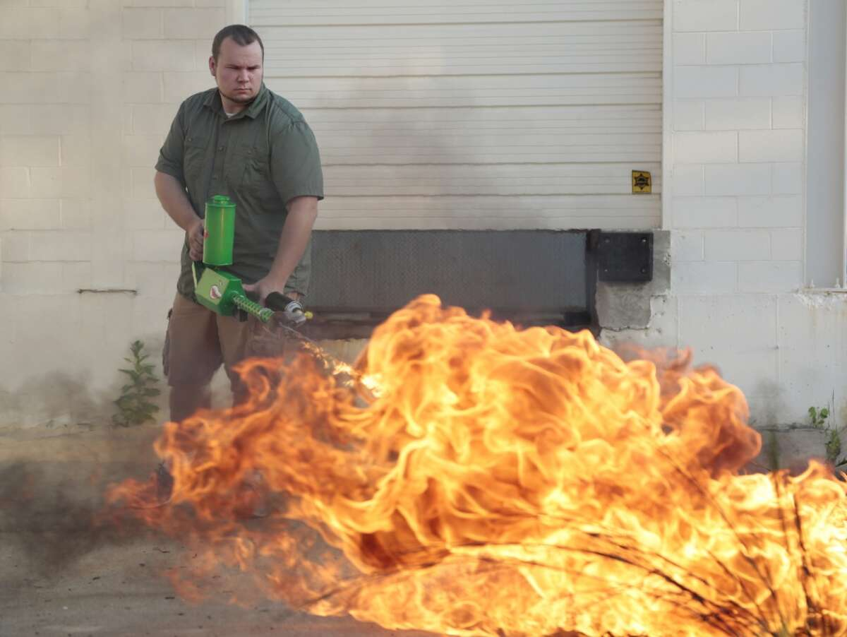 Some of the items Trump Administration wants tariffs on - China, Europe Flamethrowers