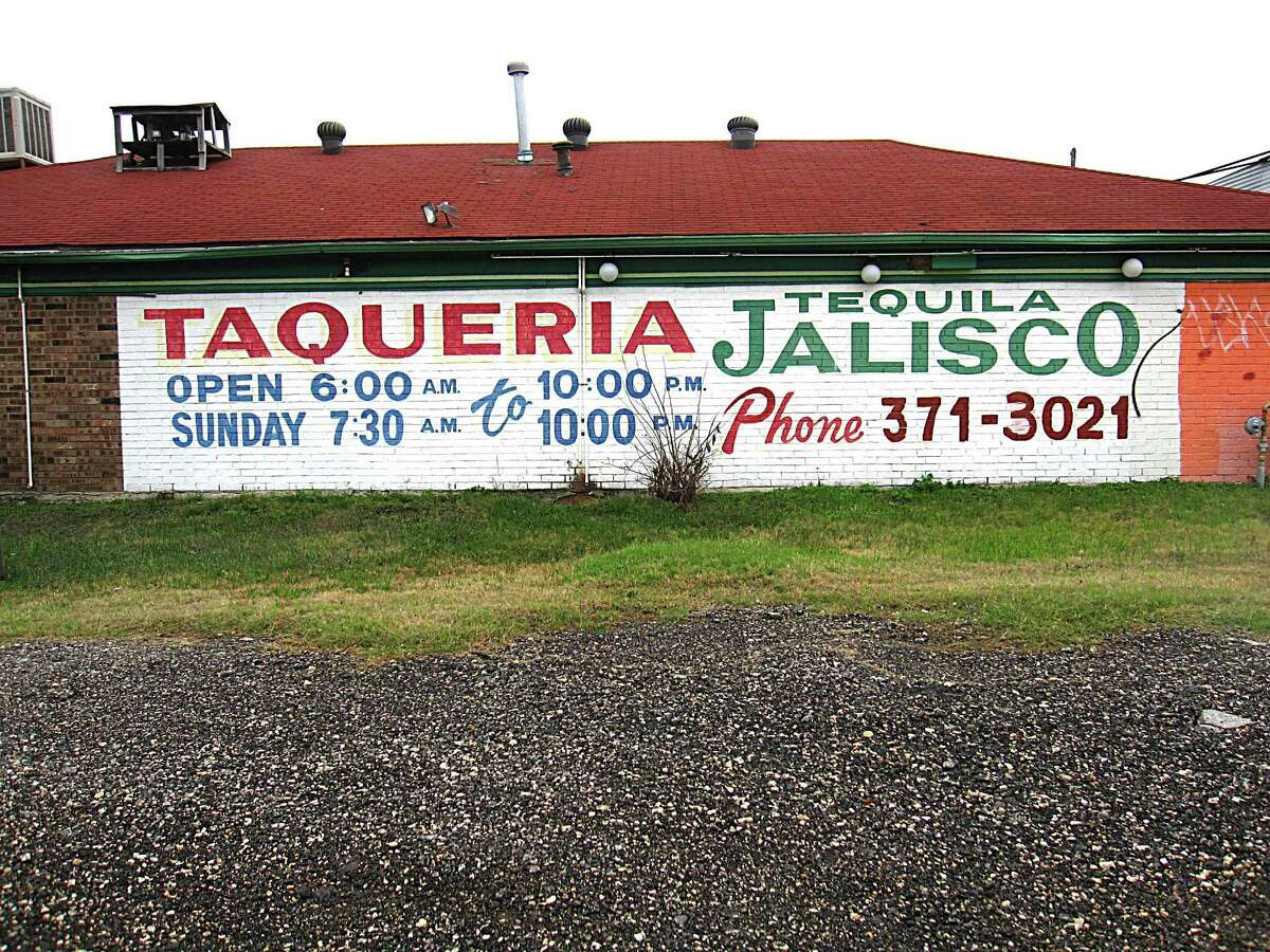 Taquería Tequila Jalisco on West Military Drive.