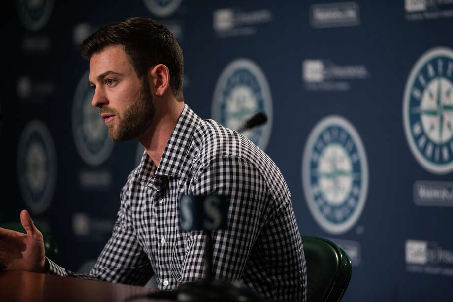 Mariners rookie outfielder Mitch Haniger will compete for Seattle's starting right fielder job after coming over in a blockbuster trade the night before Thanksgiving. To see the rest of the M's major offseason moves, check out the rest of the gallery. Photo: GRANT HINDSLEY, SEATTLEPI.COM / SEATTLEPI.COM
