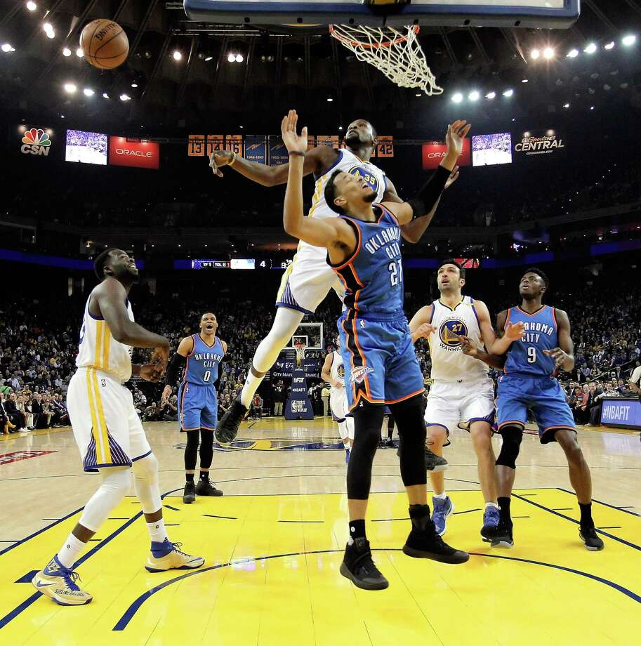 kevin durant making defense a big part of his all star resume sfgate kevin durant 35 blocks a shot by andre roberson 21 in the