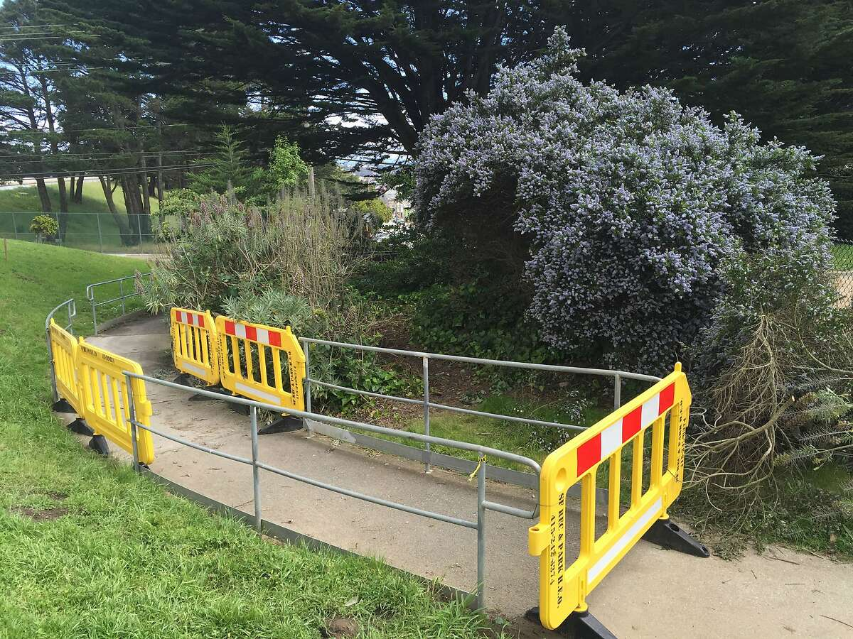 Nicole Fitts' body was found just feet from a child's playground in San Francisco's John McLaren Park.