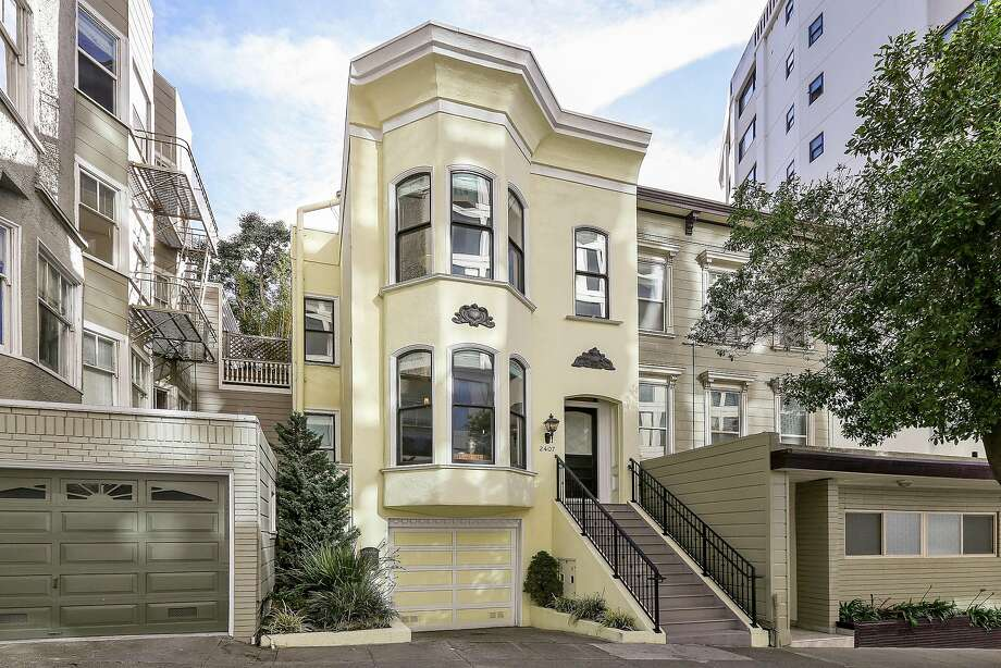 2407 Sacramento St. is a three-bedroom home in Pacific Heights available for $2.695 million. Photo: Open Homes Photography