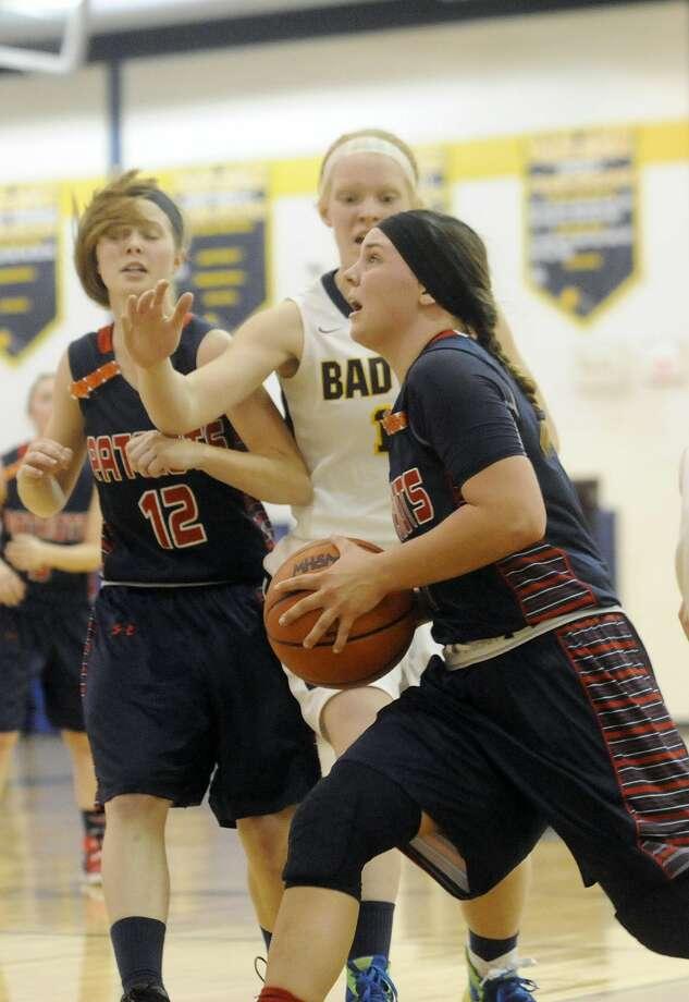 Bad Axe 55, USA 49 Photo: Seth Stapleton/Huron Daily Tribune
