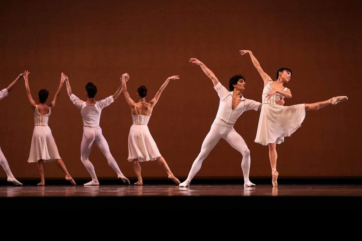 SF Ballet performs in a dress rehearsal of Seven Sonatas on Thursday, January 26, 2017 in San Francisco, Calif.