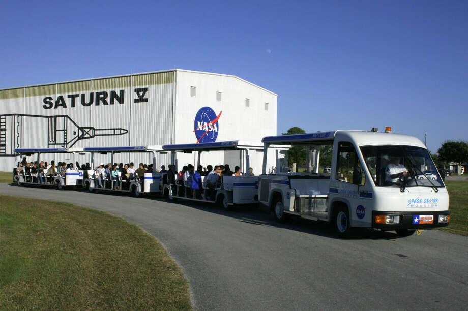 A tram tour at Space Center Houston. Space Center Houston has a variety of events and attractions awaiting guests in town for the Super Bowl or there's always something new to discover for locals too.