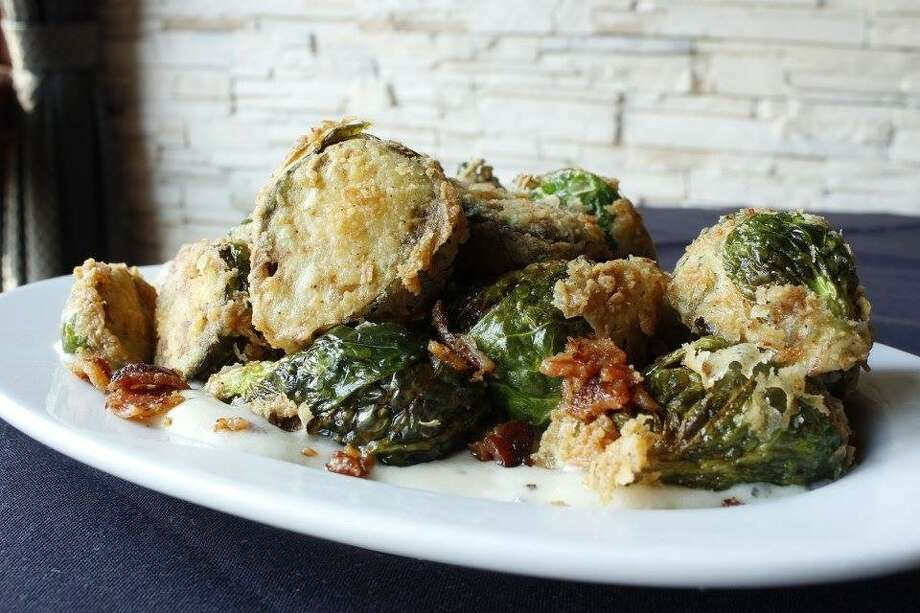 Roasted Brussels Sprouts with Pancetta from Executive Chef David Skinner at Eculent