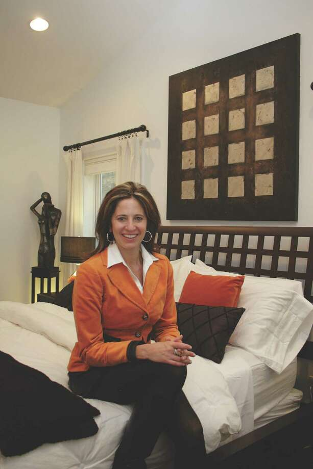 Maria Billis in her Saratoga Springs home.