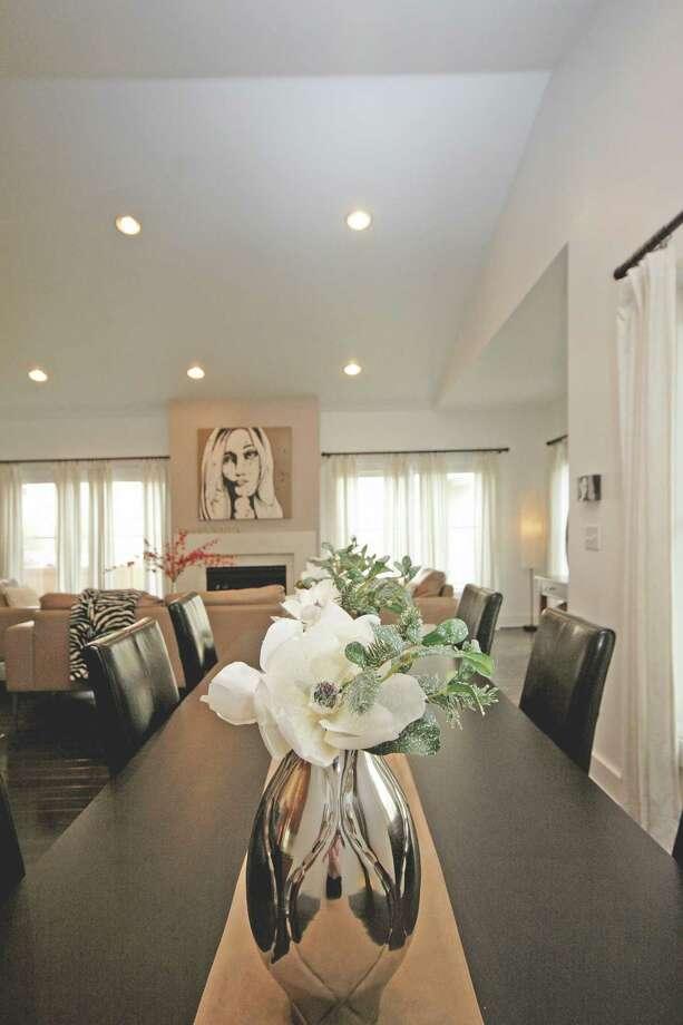 Maria Billis's Saratoga Springs home.