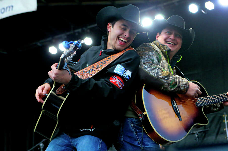 The Clay Hollis Band performs at the 39th Annual Cowboy Breakfast Friday January 27, 2017 at Cowboys Dance Hall. The event served 12,000 chorizo and egg tacos and 5,000 potato and egg tacos. Photo: John Davenport, San Antonio Express-News / ©San Antonio Express-News/John Davenport