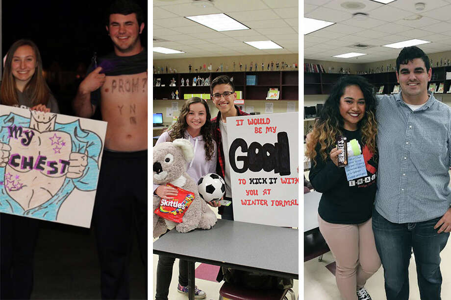 Even though prom is months away, Southeast Texas high school students aren't wasting time finding dates. Scroll through the slideshow to see all the creative ways students are popping the question. Photo: Twitter