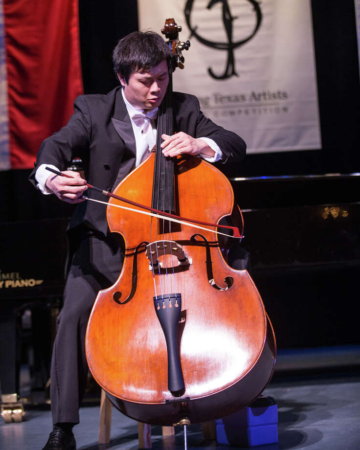 Shenyang, China's Peng Wang, a student at Texas Christian University's School of Music, was awarded the Silver Medal in the Strings Division at the 2016 Young Texas Artists Music Competition.