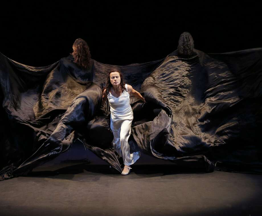 "Soledad Barrio and Noche Flamenca perform Martin Santangelos' ""Antigona,"" an adaptation of Sophocles' ""Antigone,"" at Z Space in San Francisco this month. Photo: Chris Bennion"