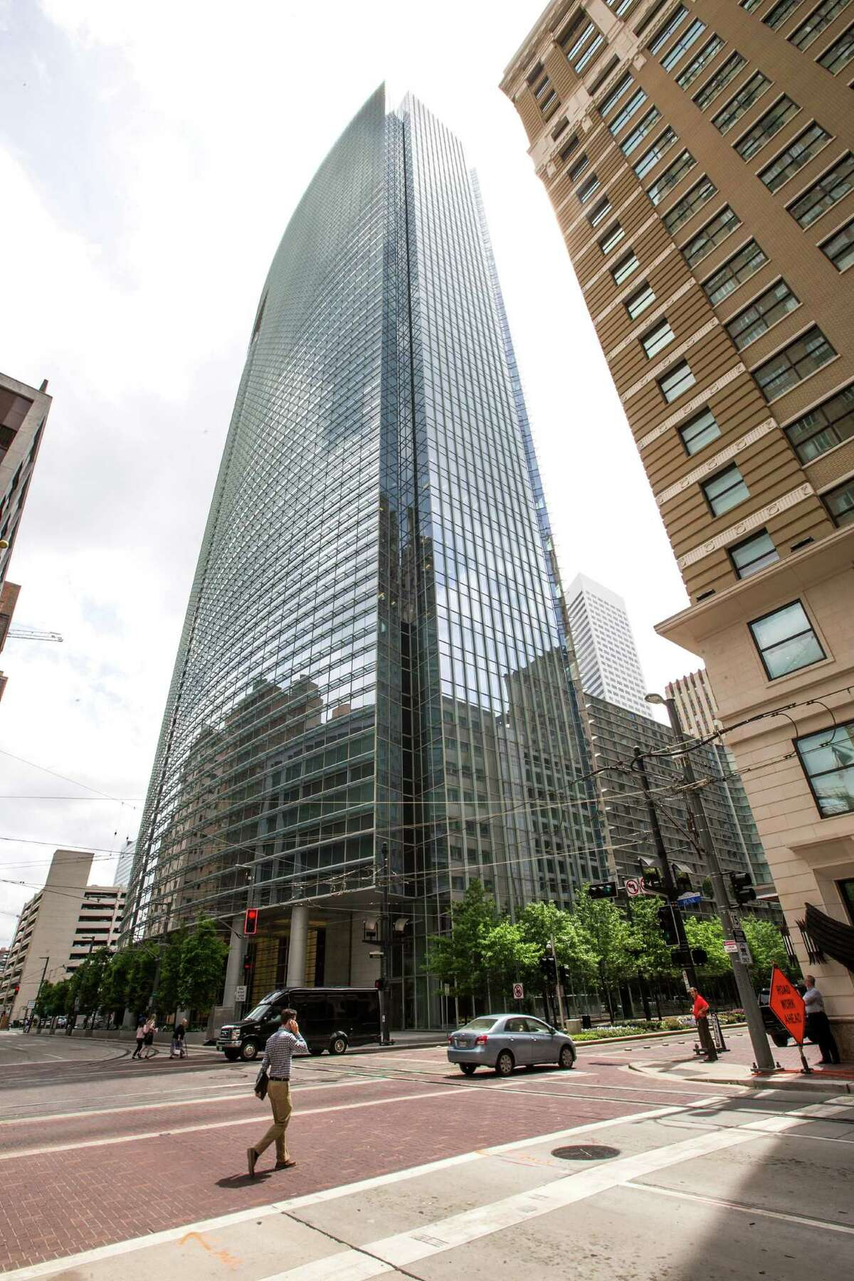 BG Group Place at 811 Main is Houston's largest LEED Platinum building.