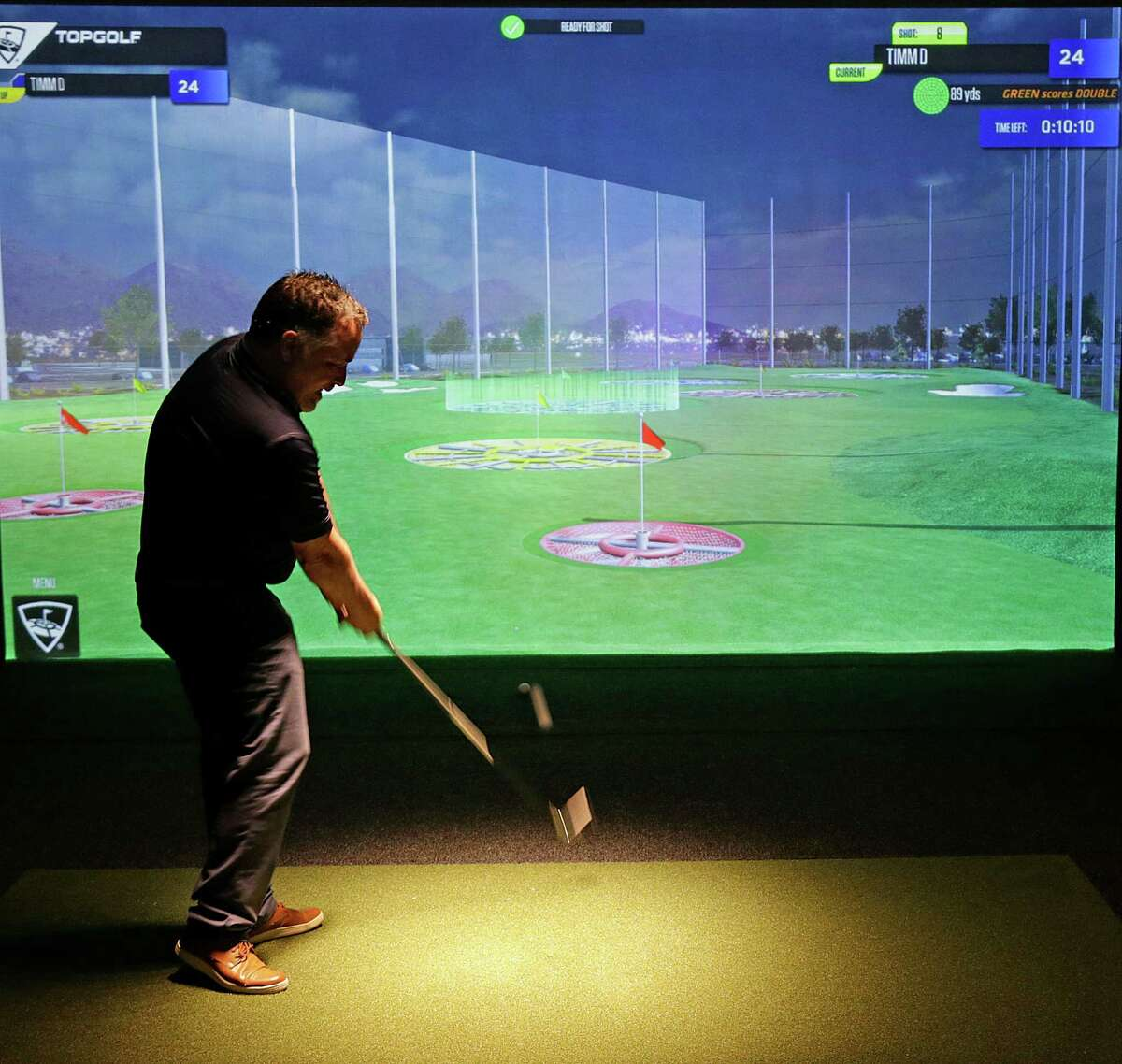Houston Hotels to Stay: Take a break from all of that baseball with a round of Top Golf inside of the newly renovated Four Seasons Hotel. No caddy required.