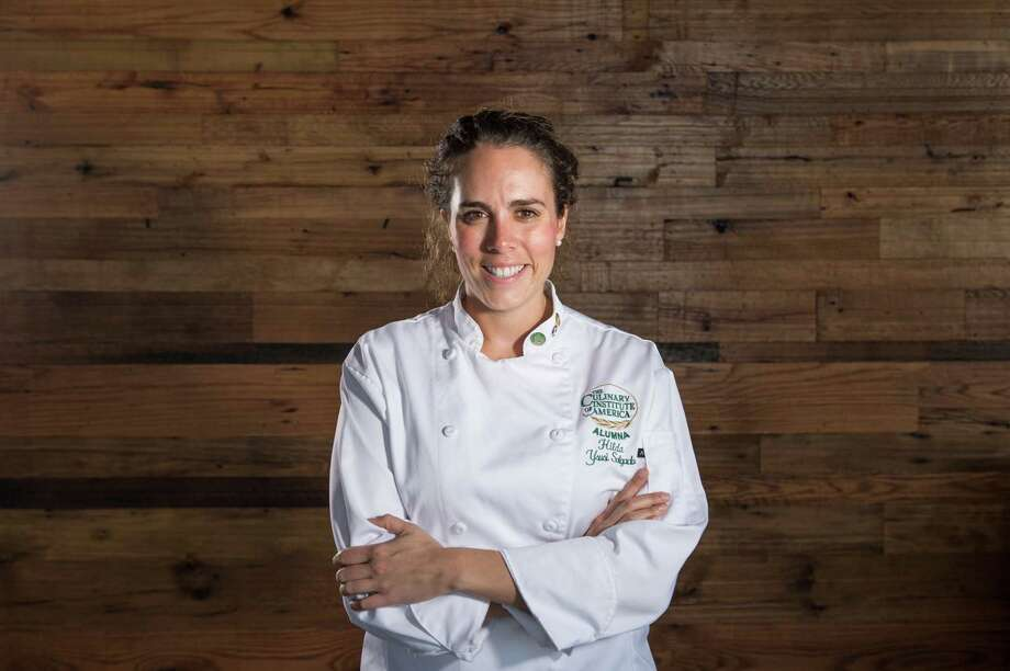 27-year-old Chef Hilda Ysusi is a Culinary Institute of America graduate, and is opening Broken Barrel in Hughes Landing on Feb. 6. Photo: Kelly Schafler / (c)Chuck Cook Photography info@chuckcookphoto.com