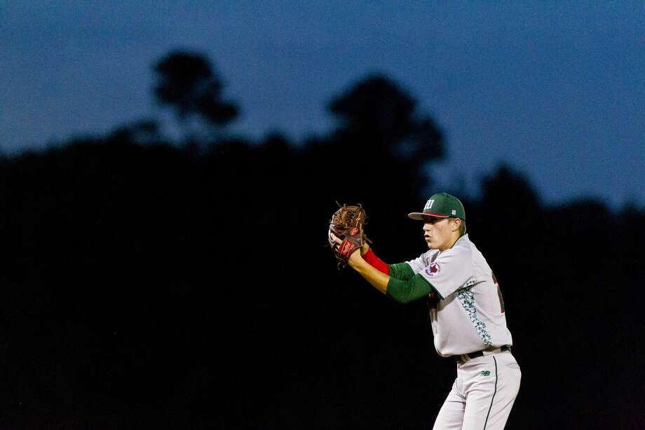The Woodlands pitcher Devin Fontenot throws against College Park during a District 16-6A baseball game Friday, April 15, 2016. The junior LSU verbal commit threw seven scoreless innings, allowing just one hit, 2 walks and struck out seven in the team's 8-0 win. (Photo by Jason Fochtman) Photo: Jason Fochtman/Houston Chronicle