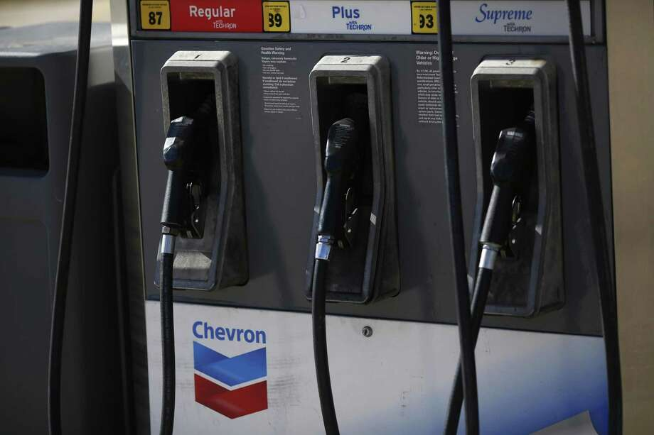 Chevron Corp. posted $497 million loss last year, its first annual loss since at least 1980. As the first so-called supermajor oil company to post year-end results, Chevron's results may herald bleak news for an industry battered by the oil market crash. Photo: Luke Sharrett /Bloomberg News / © 2017 Bloomberg Finance LP