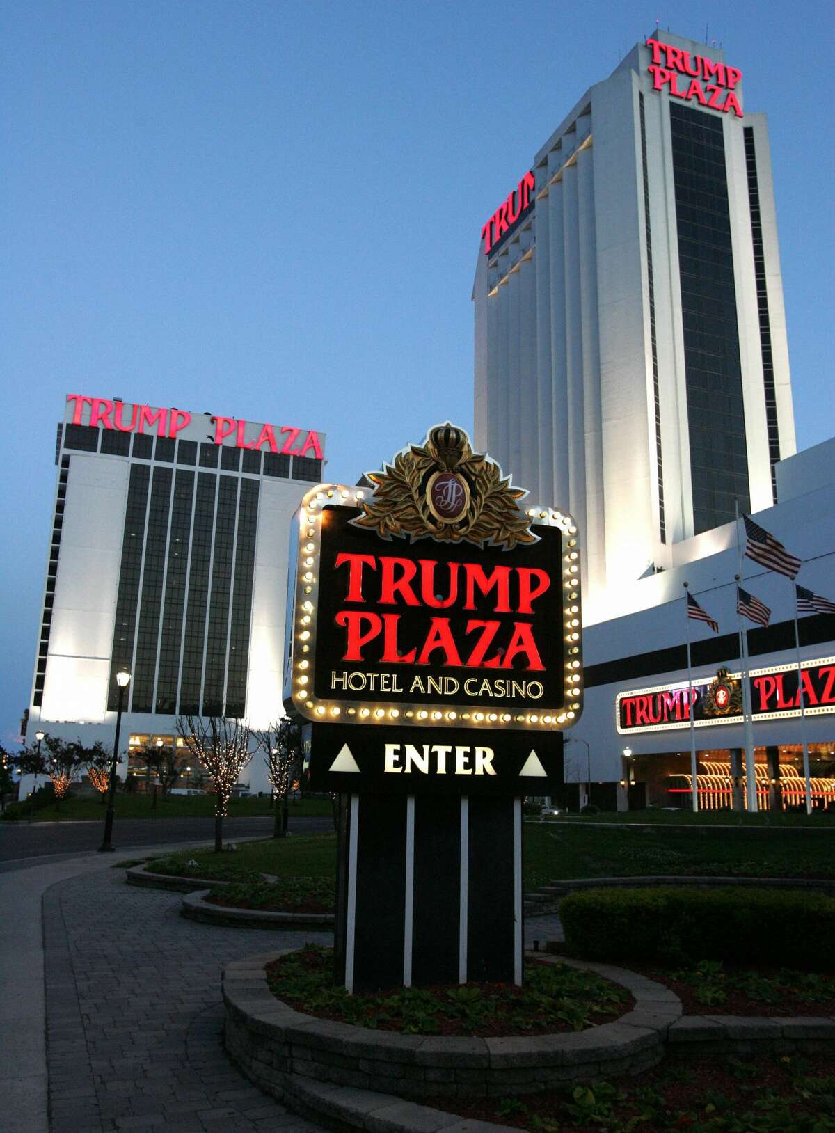 HostingWrestleMania Trump's history with the WWE, then the World Wrestling Federation, began in 1988 when his hotel and casino, Trump Plaza, hostedWrestleMania V.