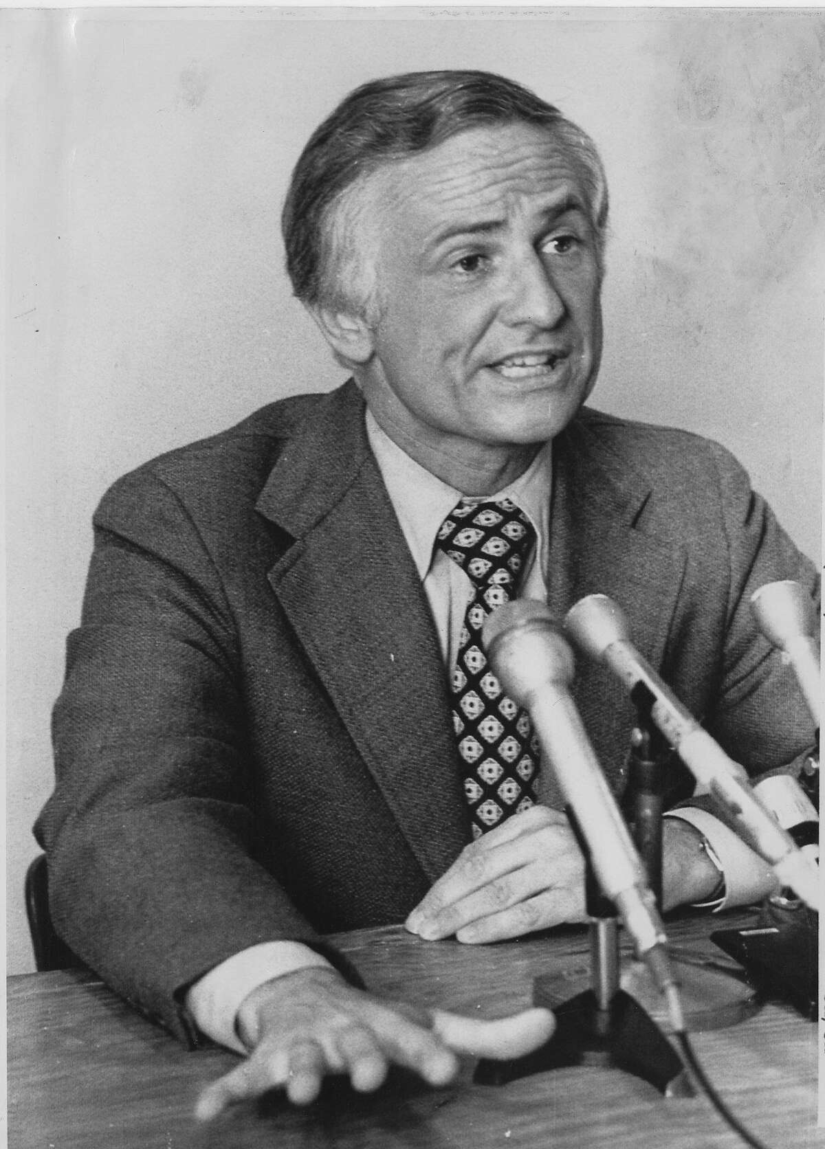 William Norris Democratic candidate for state Attorney General July 2, 1974, UPI photo