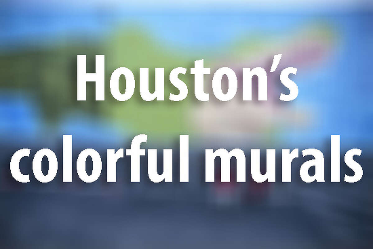 Find out where to see some of Houston's most beautiful street art ...