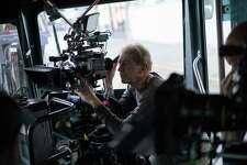 "Cinematographer Frederick Elmes on the set of the Jim Jarmusch film ""Paterson."" Cinematographer Frederick Elmes on the set of the Jim Jarmusch film ""Paterson."""