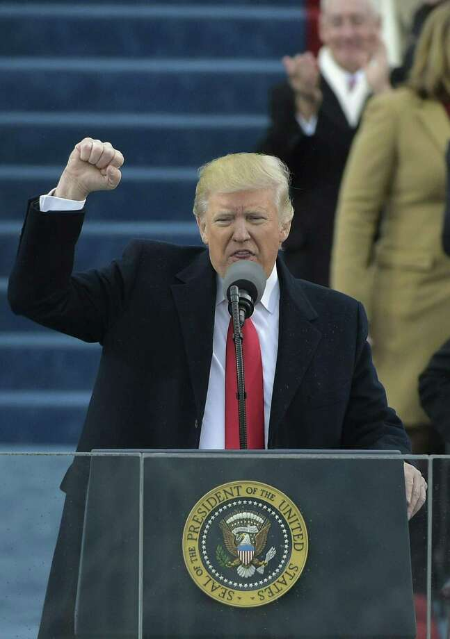 President Donald Trump's inaugural speech on Jan. 20 laid the foundation for an unprecedented period of American isolation and the end of American exceptionalism. Photo: MANDEL NGAN /AFP /Getty Images / AFP or licensors