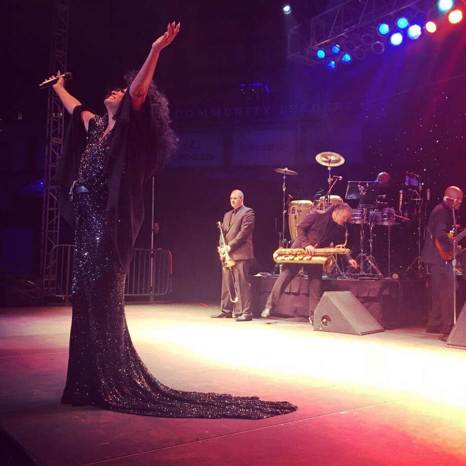 Diana Ross performs during the Diamond Dreams gala. Photo: Amber Elliott