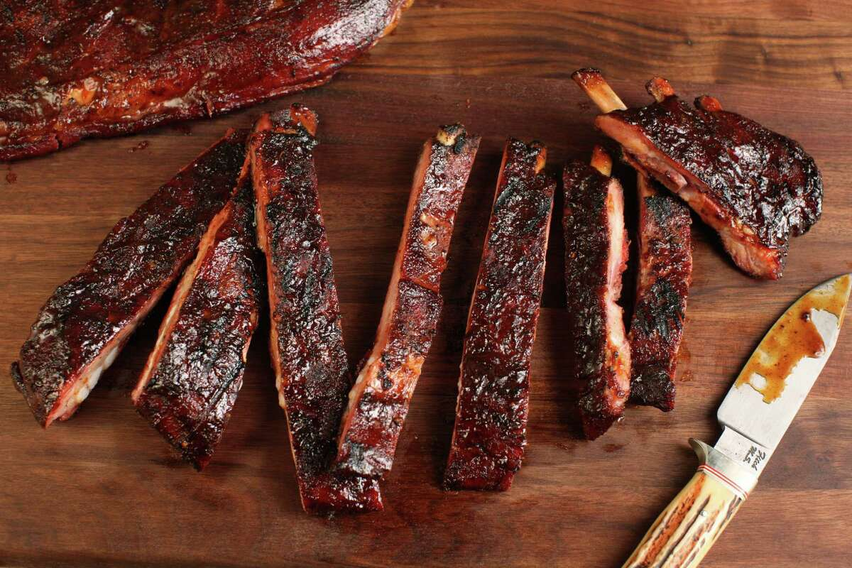 Chef/pitmaster Jean-Paul Bourgeois of Blue Smoke restaurant gives New Yorkers a taste of barbecue and Cajun cuisine.