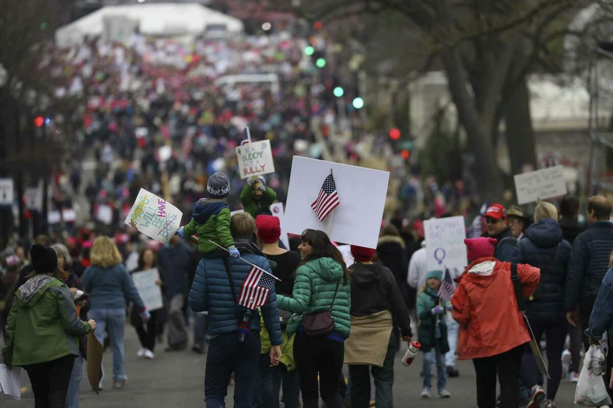 Donald Trump has new topics in a new culture war - and reproductive rights is not likely to be among them. But demonstrators at the Women's March point to a Supreme Court pick likely to be hostile to abortion. In any case, the event was an attempt to unify protesters around immigration and civil rights, too.