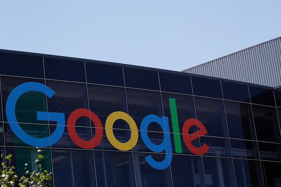 The Google logo is seen at the company's headquarters last year in Mountain View. Google is considering opening an enormous new office in San Jose, potentially bringing thousands of jobs there. Photo: Marcio Jose Sanchez, Associated Press
